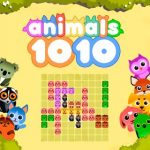 1010 Animals puzzle HTML5 game