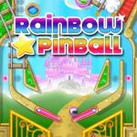 Rainbow Star Pinball, arcade HTML5 game