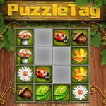 Puzzle tag mobile