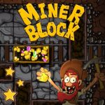 Miner Block, online puzzle games for iPhone, iPad and Android