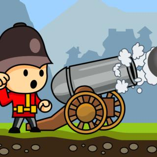 Cannons And Soldiers, arcade game