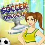 Soccer Dress-Up Girl Game