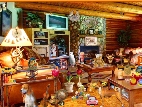Wooden House, online hidden object games