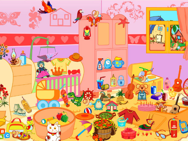Messy Bedroom is HTML5 game