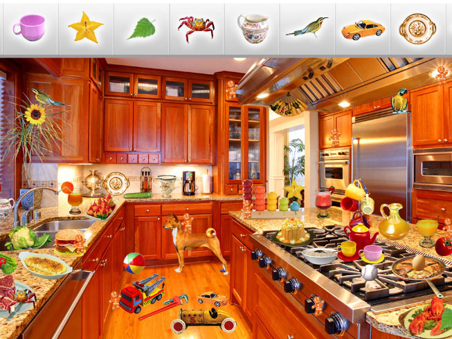 Kitchen Hidden Objects-new HTML5 game