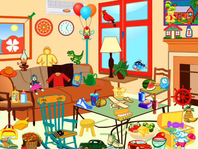 Turquoise House, hidden object games