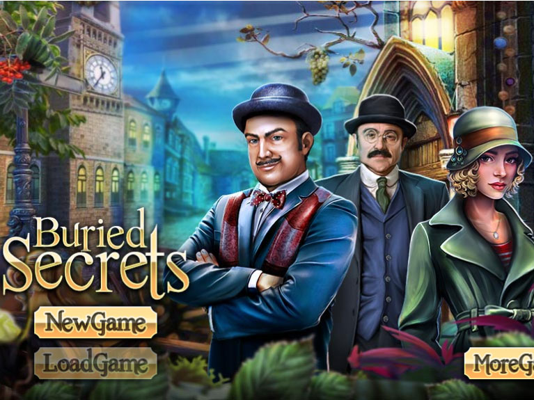 Buried Secrets, OnlineGames