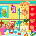 Colorful Cafe, Hidden Object Games